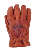 Grifter Scoundrels Leather Moto Riding Gloves - Top