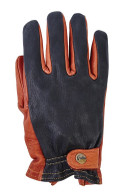 Grifter Classics Leather Moto Gloves - Top