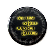 All That Is Gold Does Not Glitter lapel pin