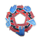 Rock Paper Scissors Lizard Spock Magnet