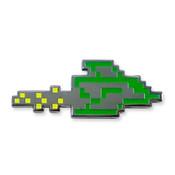 TI-99/4A Parsec Ship lapel pin