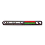 Commodore 64 Console Logo lapel pin