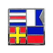 Nautical Flag pin - CARE