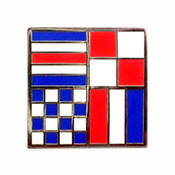 Nautical Flag pin - CUNT