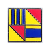 Nautical Flag pin - GOOD