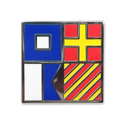 Nautical Flag pin - PRAY