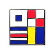 Nautical Flag pin - SUCK