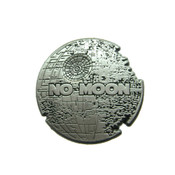 Death Star - No Moon Lapel Pin 3D Diecast