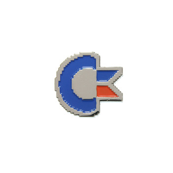 Commodore - C Loop Lapel Pin