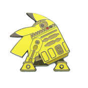 R2-PCHU Black Nickel Hard Enamel Lapel Pin