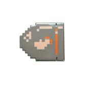 Mario - Bullet Bill Lapel Pin Hard Enamel Black Nickel