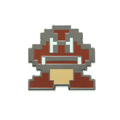 Mario - Goomba Lapel Pin Hard Enamel Black Nickel