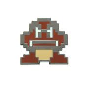 Mario - Goomba Lapel Pin Hard Enamel Black Nickel