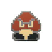 Mario - Goomba Super Lapel Pin Hard Enamel Black Nickel