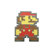 Mario - Standing Lapel Pin Hard Enamel Black Nickel