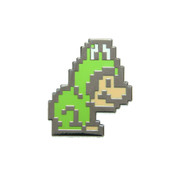 Mario - Frog Suit Lapel Pin Hard Enamel Black Nickel