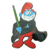 Jedi - Papa Smurf Lapel Pin Hard Enamel Black Nickel