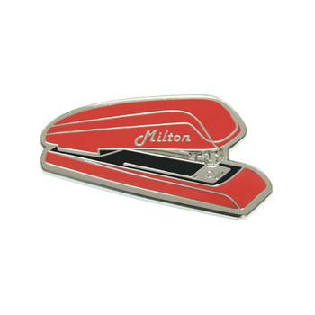 Office Space - Milton's Swingline Lapel Pin Hard Enamel Silver