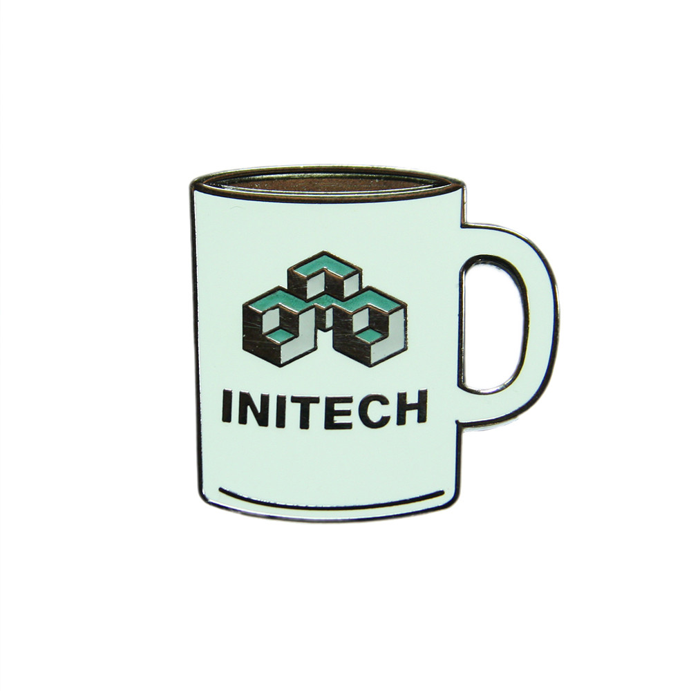 Office Space Initech Mug Lapel Pin