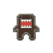 8-Bit Domo Lapel Pin Hard Enamel Black Nickel