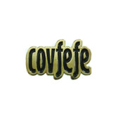 Covfefe Lapel Pin Soft Enamel Gold