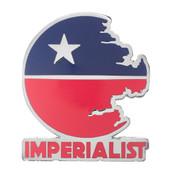 Imperialist Lapel Pin Hard Enamel Silver