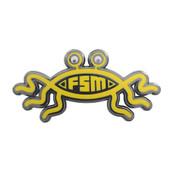 Flying Spaghetti Monster Lapel Pin Hard Enamel Black Nickel