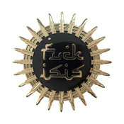 FUCK ISIS Lapel Pin Hard Enamel Gold