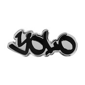 Hipster Lingo - YOLO Lapel Pin Hard Enamel Silver