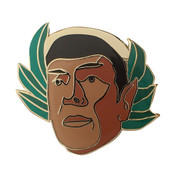 Spocks Hats - Laurel Lapel Pin Hard Enamel Gold