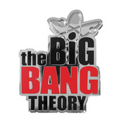 The Big Bang Theory - Logo Lapel Pin Hard Enamel Silver