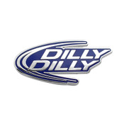 Dilly Dilly Lapel Pin Hard Enamel Silver