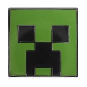 Minecraft - Creeper Lapel Pin Hard Enamel Black Nickel