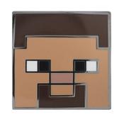 Minecraft - Steve Lapel Pin Hard Enamel Black Nickel