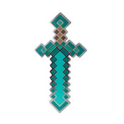 Minecraft - Sword Lapel Pin Hard Enamel Black Nickel