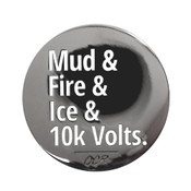 OCR - Mudder - 10k Lapel Pin Hard Enamel Black Nickel