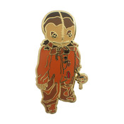 Trick R Treater Lapel Pin Hard Enamel Gold