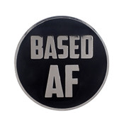 AF - Based Lapel Pin Hard Enamel Silver
