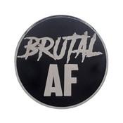 AF - Brutal Lapel Pin Hard Enamel Silver