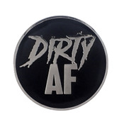 AF - Dirty Lapel Pin Hard Enamel Silver