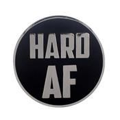AF - Hard Lapel Pin Hard Enamel Silver