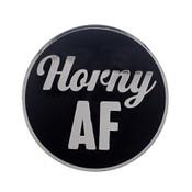 AF - Horny Lapel Pin Hard Enamel Silver