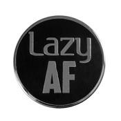 AF - Lazy Lapel Pin Hard Enamel Silver