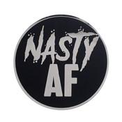 AF - Nasty Lapel Pin Hard Enamel Silver