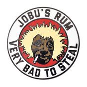 Jobus Rum - Bad to Steal Lapel Pin Hard Enamel Black Nickel