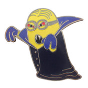 Minion Vampire Lapel Pin Hard Enamel Black Nickel