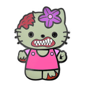 Zombie - Hello Kitty Lapel Pin Hard Enamel Black Nickel