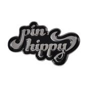 Pin Hippy Logo pin Lapel Pin Silver
