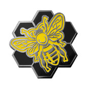 Bees Knees Lapel Pin Hard Enamel Black Nickel