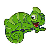 Chameleon Cutie Lapel Pin Soft Enamel Rainbow Plating